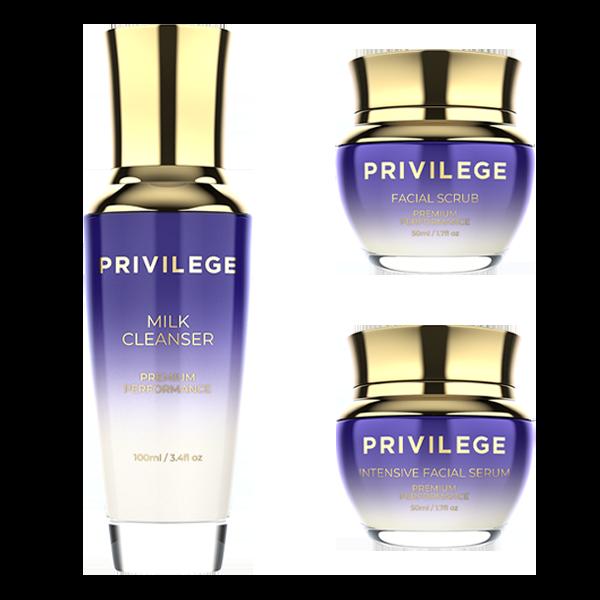 Privilege Очищающий набор: сияние и свежесть