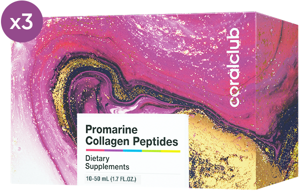 Промарин Пептиды Коллагена курс на 1 месяц